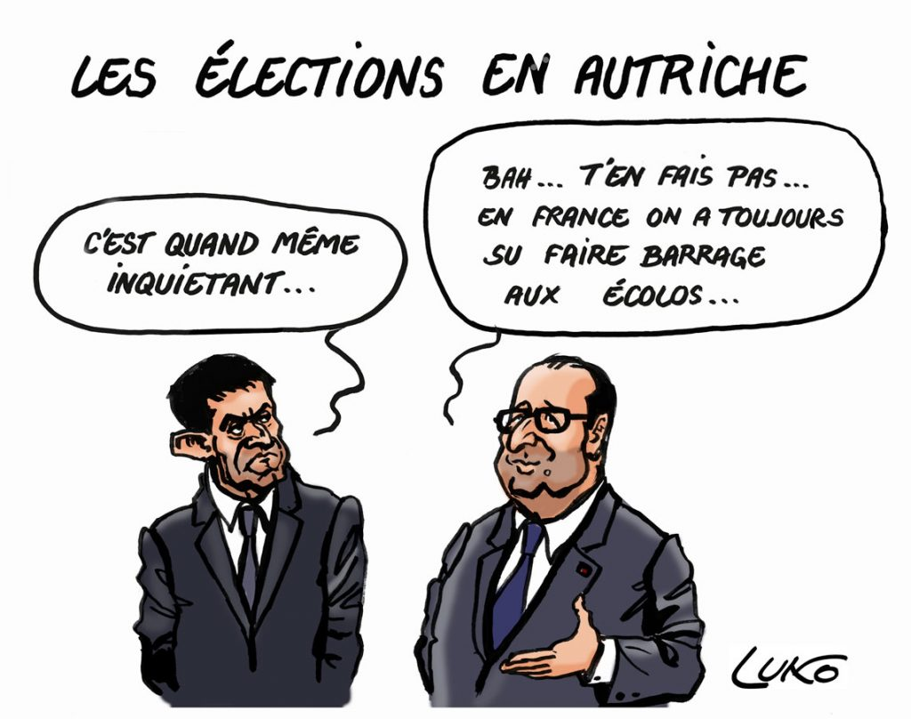 HOLLANDE-AUTRICHE-W