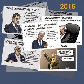 Dessin d'actualité 2016