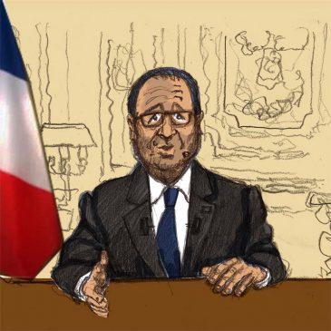 Les vœux de Hollande