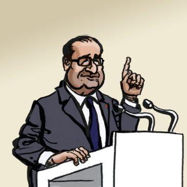 Hollande en campagne