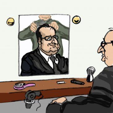 Brèves vacances pour Hollande