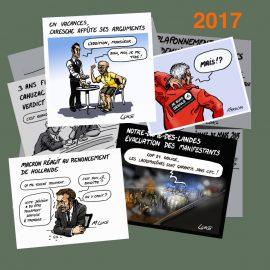 Dessin d'actualité 2017