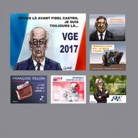 Affiches électorales 2017