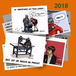 Dessin d'actualité 2018