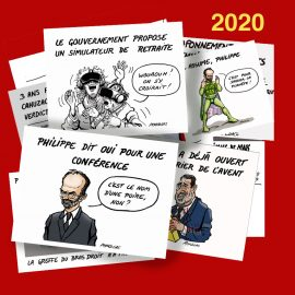 Dessin d'actualité 2020