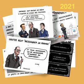 Dessin d'actualité 2021